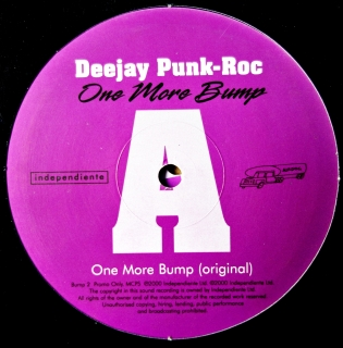 "2x12"" Deejay Punk-Roc ‎– One More Bump"