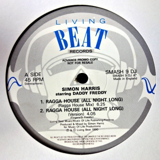 "12"" Simon Harris ‎– Ragga House"
