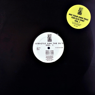 "12"" Tony Rodriguez ‎– Strictly For The DJ's Vol.1"
