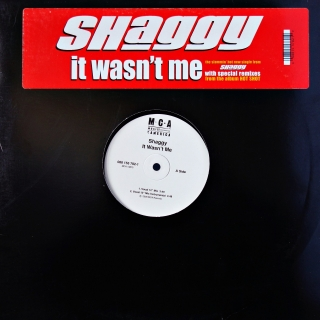 "12"" Shaggy ‎– It Wasn't Me"