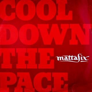 "12"" Mattafix ‎– Cool Down The Pace"