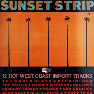 LP Various ‎– Sunset Strip