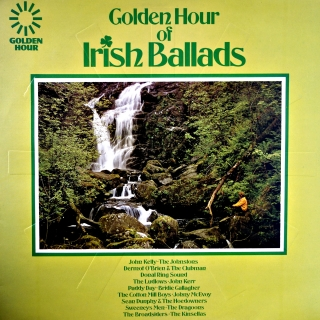 LP Various ‎– Golden Hour Of Irish Ballads