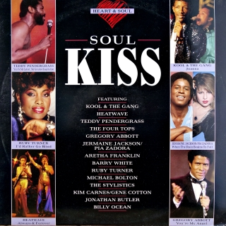 LP Various ‎– Heart & Soul: Soul Kiss