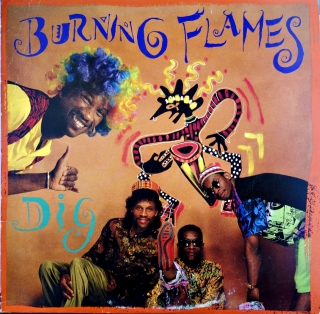 LP Burning Flames ‎– Dig