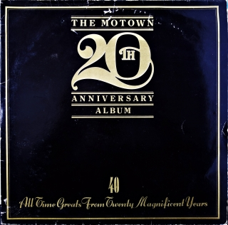 2xLP Various ‎– The Motown 20th Anniversary Album