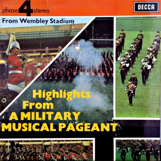 LP Various ‎– Highlights From A Military Music Pageant