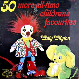 LP Wally Whyton ‎– 50 More All-Time Children's Favourites