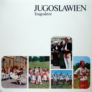 LP Unknown Artist ‎– Jugoslawien = Yougoslavie