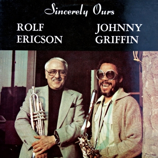 LP Rolf Ericson, Johnny Griffin ‎– Sincerely Ours
