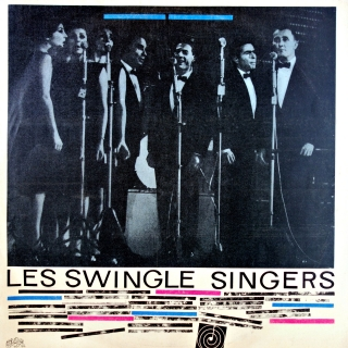 LP Les Swingle Singers ‎– Les Swingle Singer