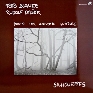 LP Toto Blanke, Rudolf Dašek ‎– Silhouettes - Duets For Acoustic Guitars