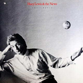LP Huey Lewis & The News ‎– Small World