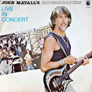 LPJohn Mayall's Bluesbreakers ‎– Live In Concert