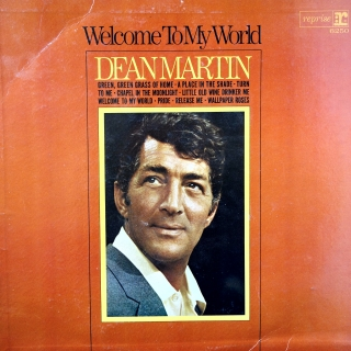 LP Dean Martin ‎– Welcome To My World