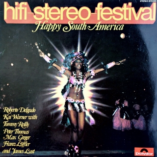LP Various ‎– Hifi-Stereo-Festival - Happy South America