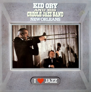 LP Kid Ory And His Creole Jazz Band ‎– New Orleans