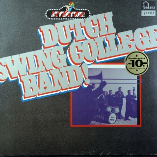 LP Dutch Swing College Band ‎– Attention! Dutch Swing College Band!