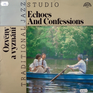 LP Traditional Jazz Studio ‎– Ozvěny A Vyznání - Echoes And Confessions