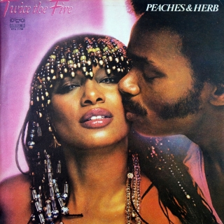 LP Peaches & Herb ‎– Twice The Fire
