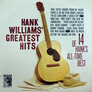 LP Hank Williams ‎– Hank Williams' Greatest Hits (14 Of Hank's All-Time Best)