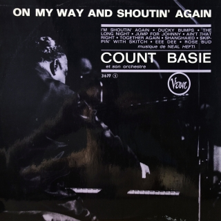 LP Count Basie & His Orchestra ‎– On My Way & Shoutin' Again!