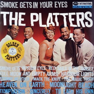 LP The Platters ‎– Smoke Gets In Your Eyes