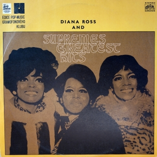 LP Diana Ross And The Supremes ‎– Supremes Greatest Hits