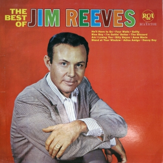 LP Jim Reeves ‎– The Best Of Jim Reeves