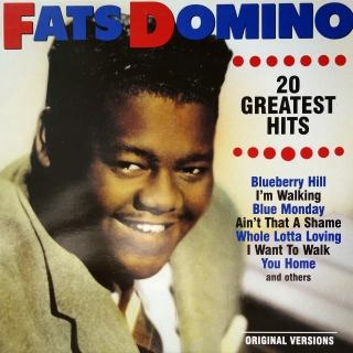 LP Fats Domino ‎– 20 Greatest Hits
