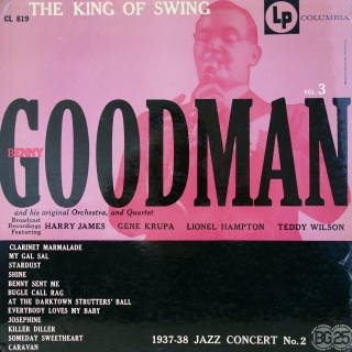 LP Benny Goodman And His Orchestra