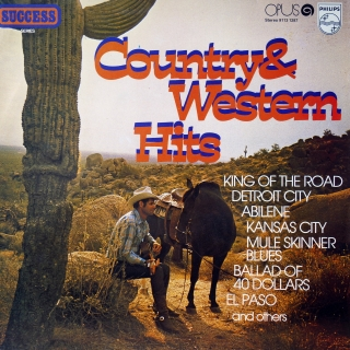 LP Various ‎– Country & Western Hits