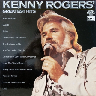 LP Kenny Rogers ‎– Greatest Hits