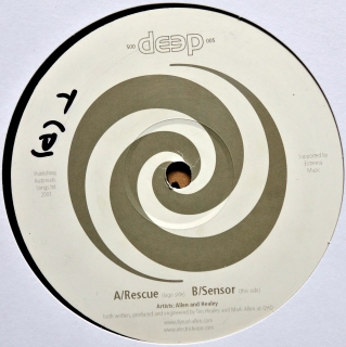 "12"" Allen And Healey ‎– Rescue / Sensor"