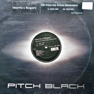 "12"" Morris v Rogers ‎– Girl From The Green Dimension"