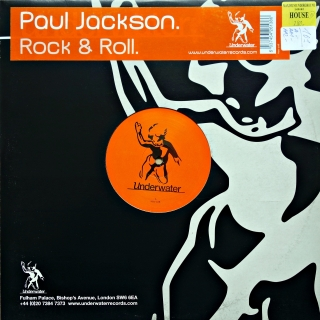 "12"" Paul Jackson ‎– Rock & Roll"