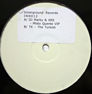 "12"" DJ Marky & XRS / TK ‎– Misto Quente VIP / The Turkish"