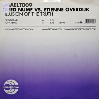 "12"" Fred Numf vs. Etienne Overdijk ‎– Illusion Of The Truth"