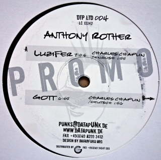 "12"" Anthony Rother ‎– Gott / Luzifer"