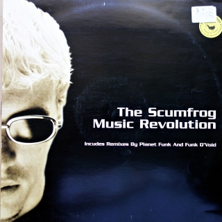 "12"" The Scumfrog ‎– Music Revolution"