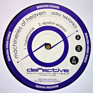 "12"" Machineries Of Heaven ‎– Astro Tektonics"