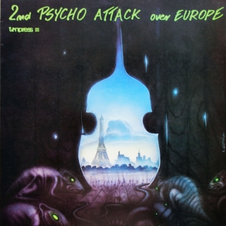 LP Various ‎– 2nd Psycho Attack Over Europe