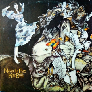 LP Kate Bush ‎– Never For Ever