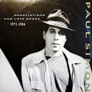 2xLP Paul Simon ‎– Negotiations And Love Songs (1971-1986 )