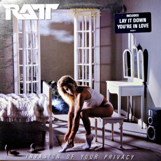 LP Ratt ‎– Invasion Of Your Privacy