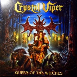 LP Crystal Viper ‎– Queen Of The Witches