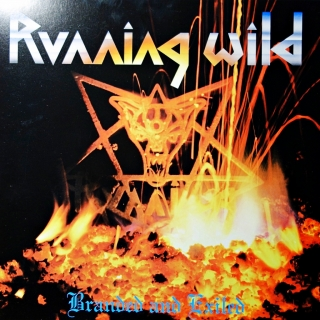LP Running Wild ‎– Branded And Exiled