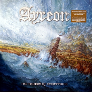 2xLP + 2xCD Ayreon ‎– The Theory Of Everything