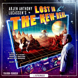 2xLP + 2xCD Arjen Anthony Lucassen ‎– Lost In The New Real