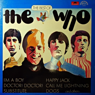 LP The Who ‎– The Best Of The Who